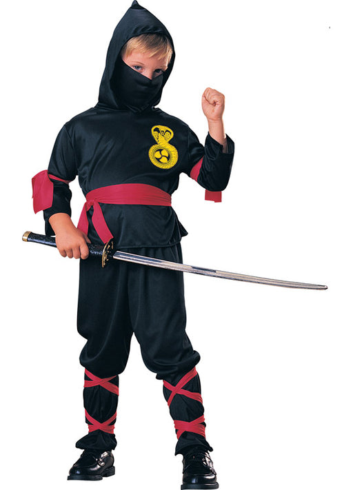 Black Ninja Costume Child