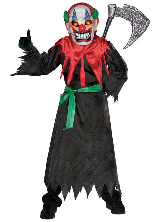 Crazy Clown Costume Child