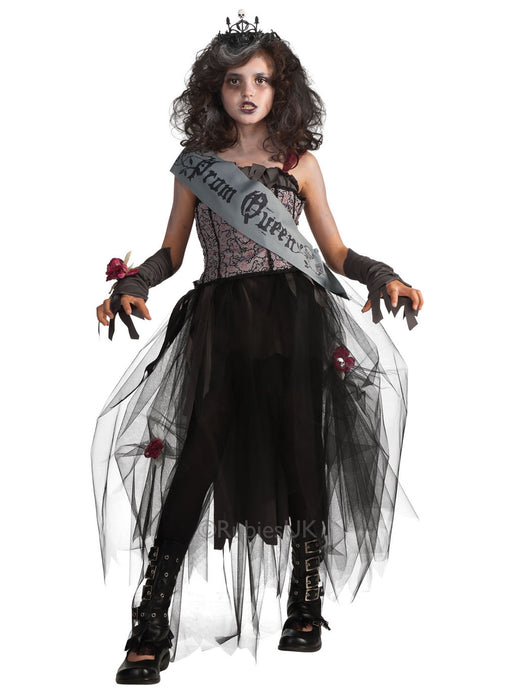 Gothic Prom Queen Costume Child