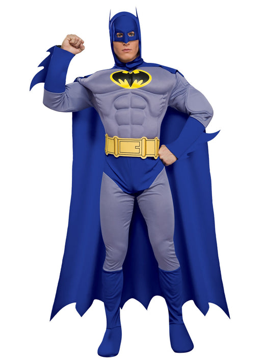 Batman The Brave And The Bold Muscle Chest Adult