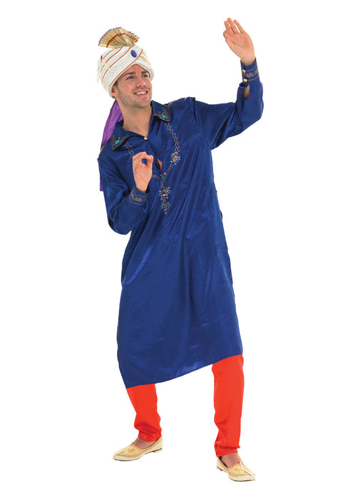 Blue Bollywood Star Costume Adult