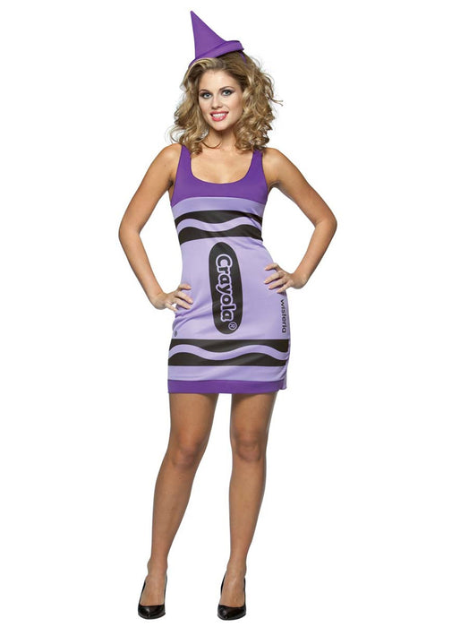 Wisteria Crayon Tank Dress