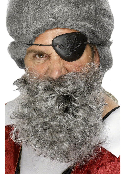 Pirate Beard Grey