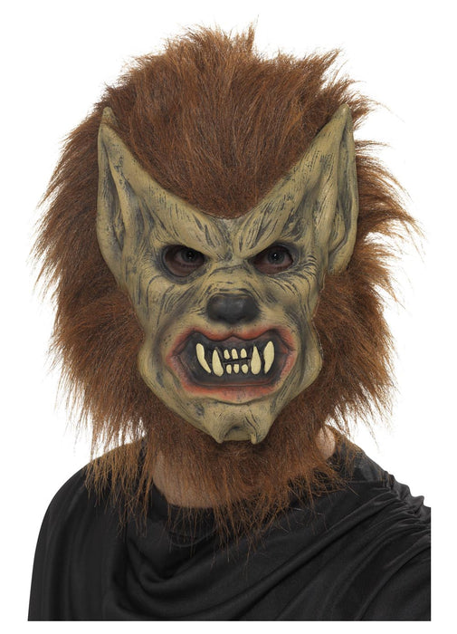 Brown Werewolf Mask Adult