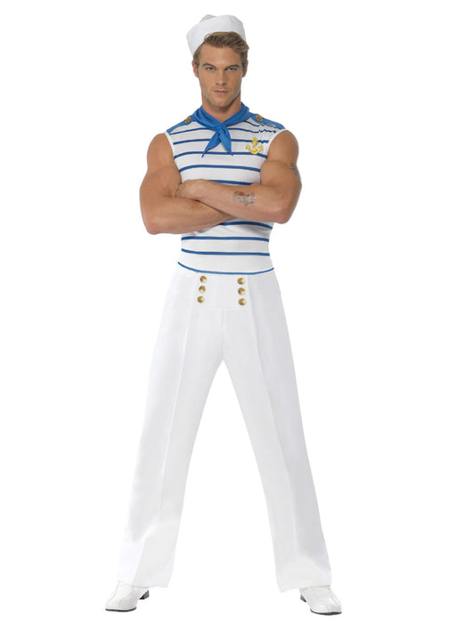 French Sailor Costume Adult