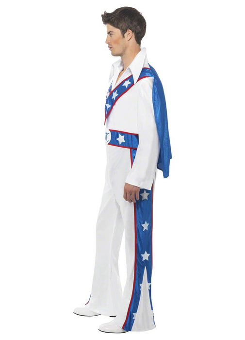 Evel Knievel Official Costume Adult
