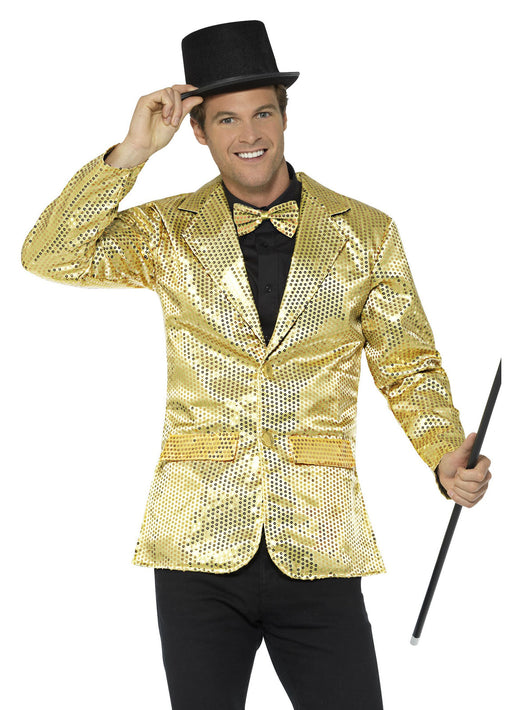 Gold Sequin Jacket Adult