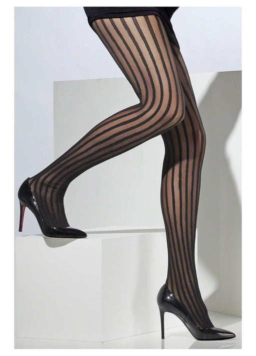 Black Vertical Tights