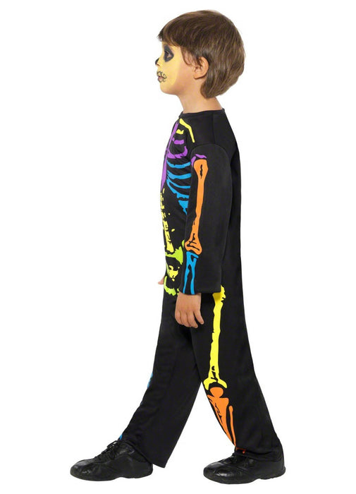Neon Skeleton Costume Child
