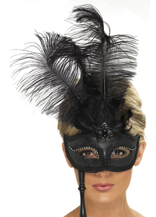 Baroque Black Eyemask