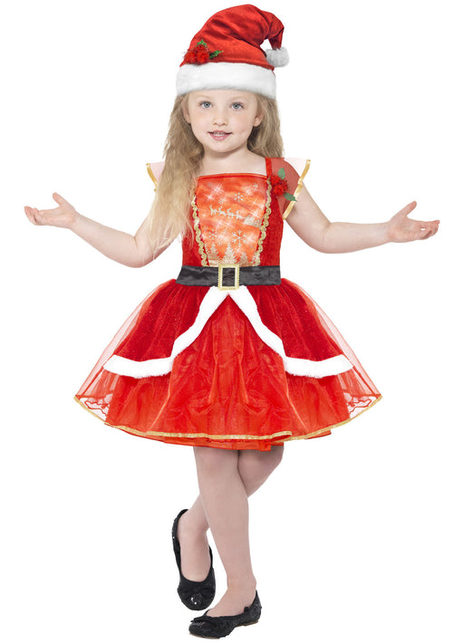 Miss Santa Dress Child
