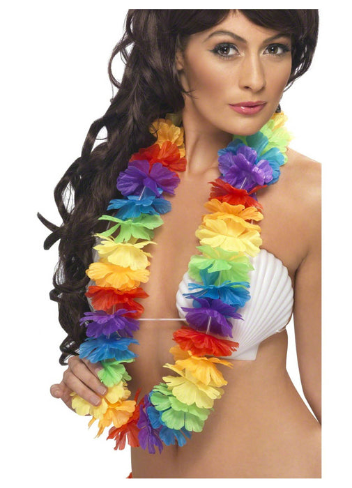 Bright Rainbow Lei
