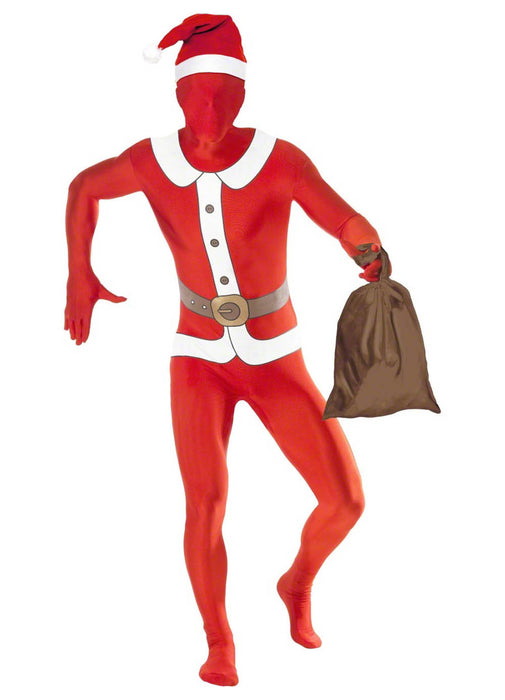 Santa Second Skin Costume Adult