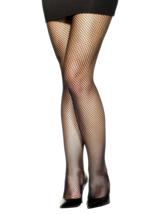 Black Fishnet Tights XL