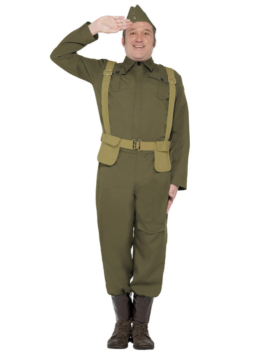 WW2 Home Guard Costume Adult