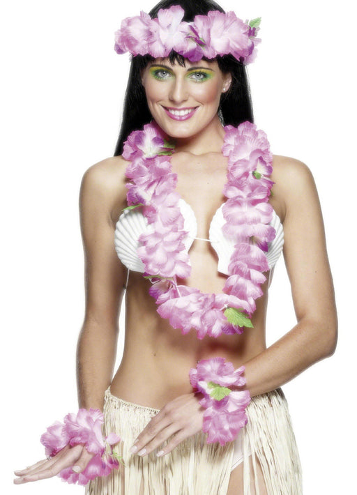 Pink Hawaiian Set Adult