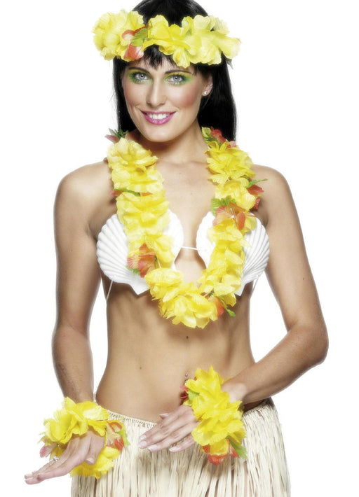 Yellow Hawaiian Set Adult
