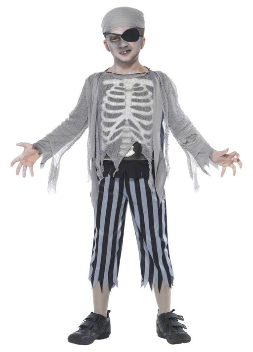 Ghost Ship Boy Costume Child