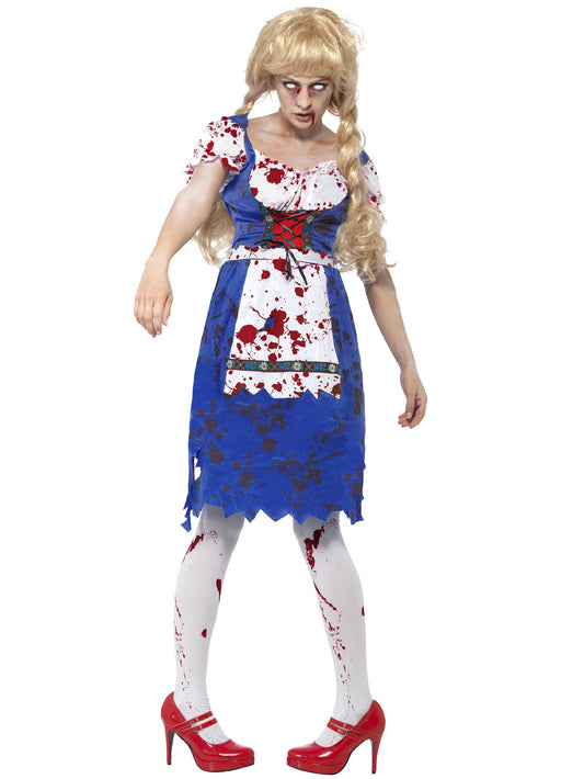 Female Zombie Bavarian Costume Adult