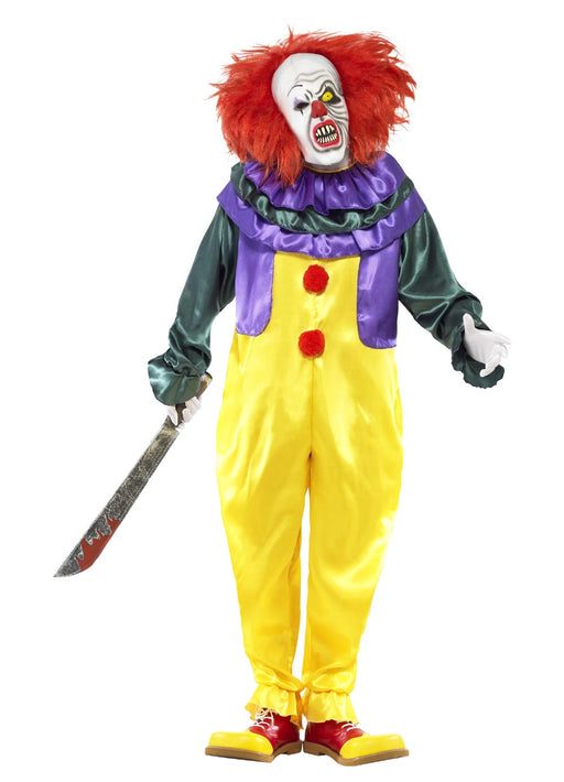 Classic Horror Clown Costume Adult