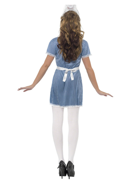 Sexy Blue Nurse Adult