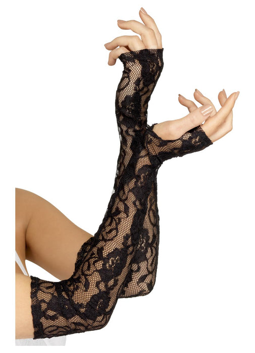 Gothic Lace Fingerless Gloves