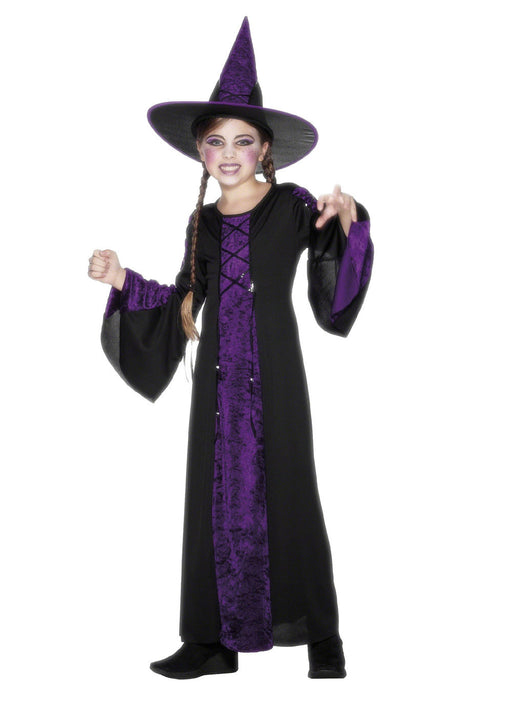 Bewitched Purple Witch Child