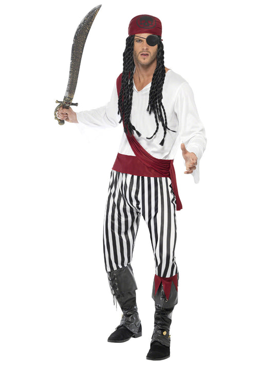 Pirate Man Costume Adult