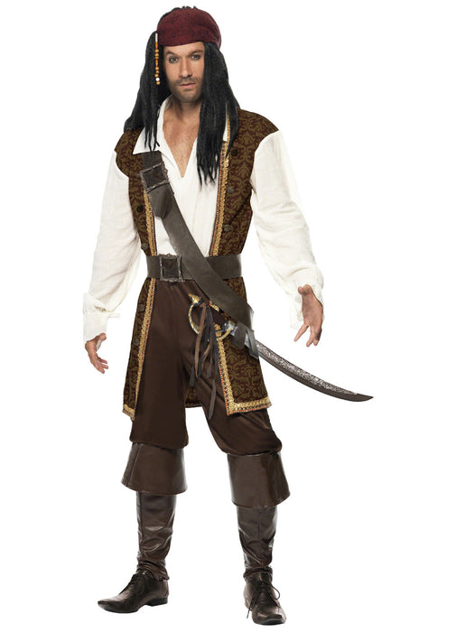 High Sea's Pirate Costume Adult