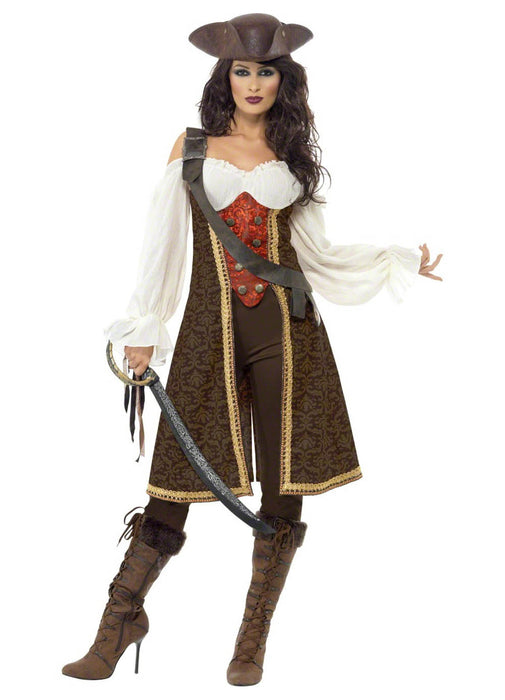 High Sea's Pirate Wench Costume Adult