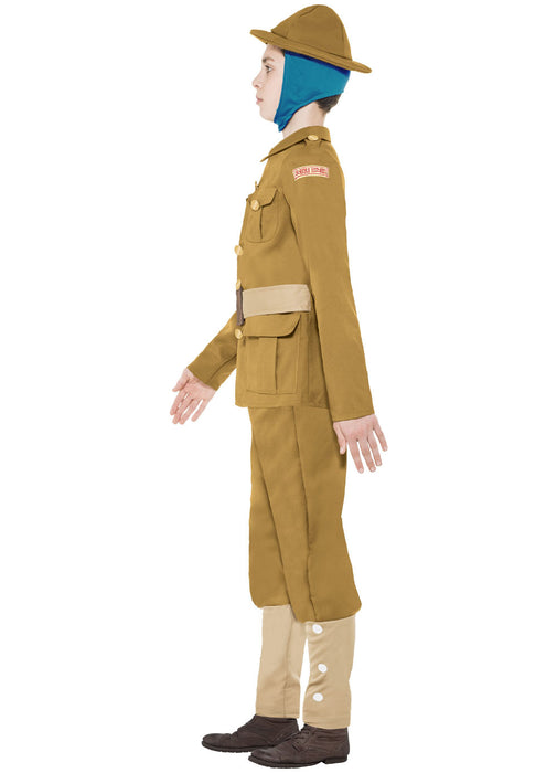 WW1 Soldier Costume Child