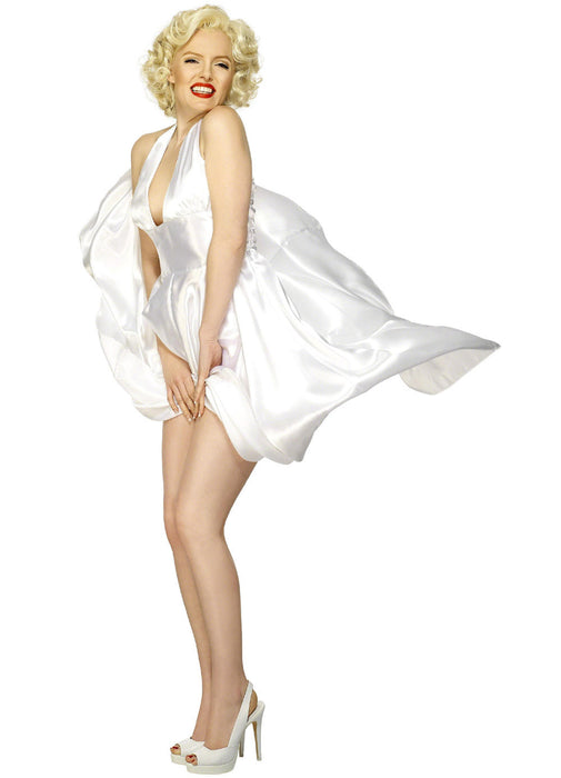 Marilyn Monroe Satin Dress Adult