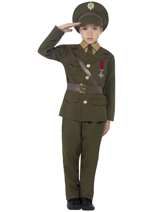 Army Officer Costume Child