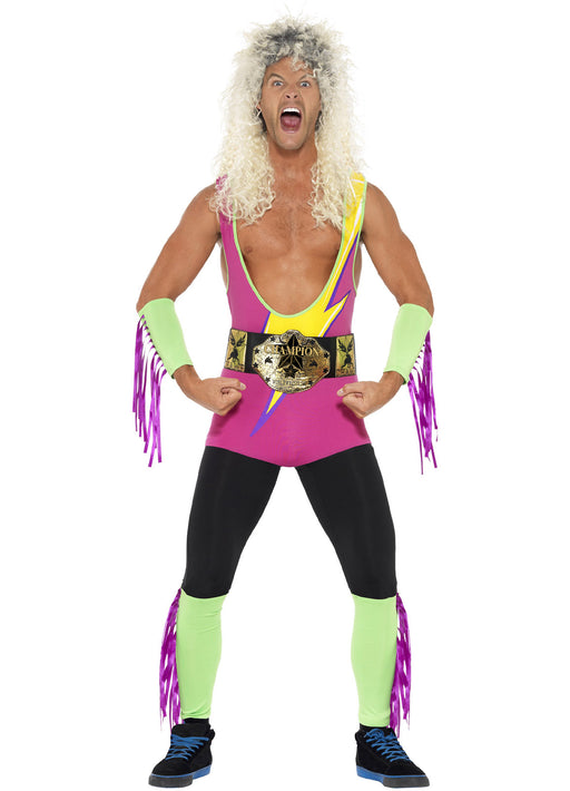 90's Retro Wrestler Costume Adult