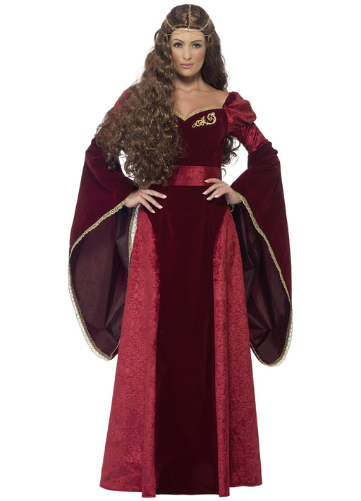 Medieval Queen Deluxe Costume Adult