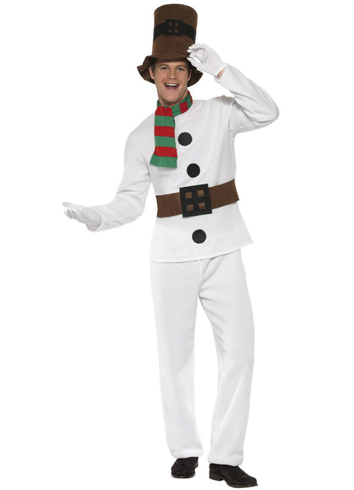 Mr Snowman Costume Adult
