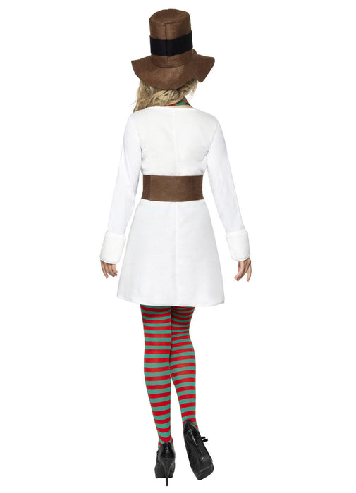 Miss Snowman Costume Adult