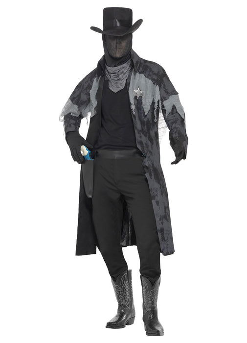 Ghost Town Phantom Sheriff Costume Adult