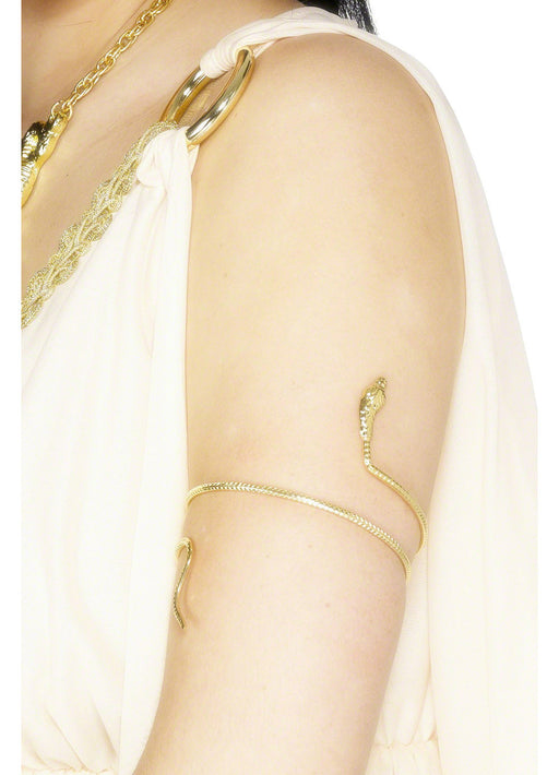 Gold Egyptian Snake Bracelet