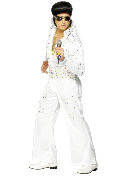 Elvis Jewelled Costume Adult