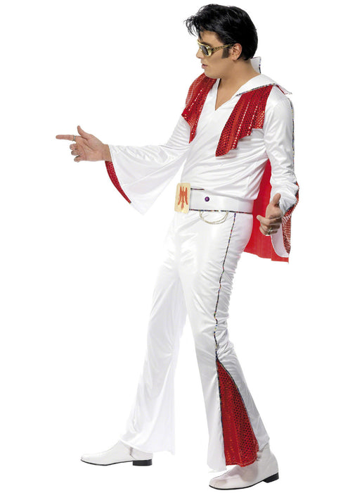 Elvis White Costume Adult