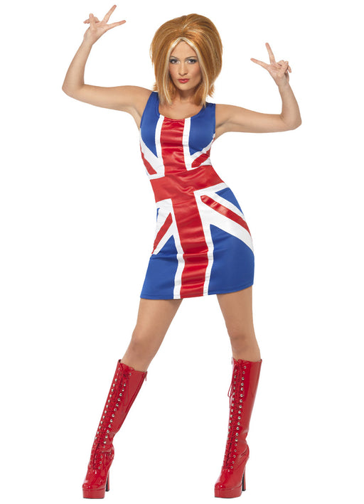 Ginger Power Union Jack Dress Adult