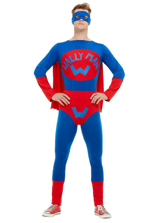 Wallyman Superhero Costume Adult