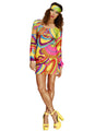 60's Flower Power Costume Adult