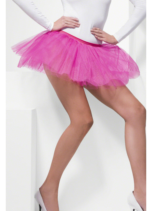 Hot Pink Tutu Underskirt Adult