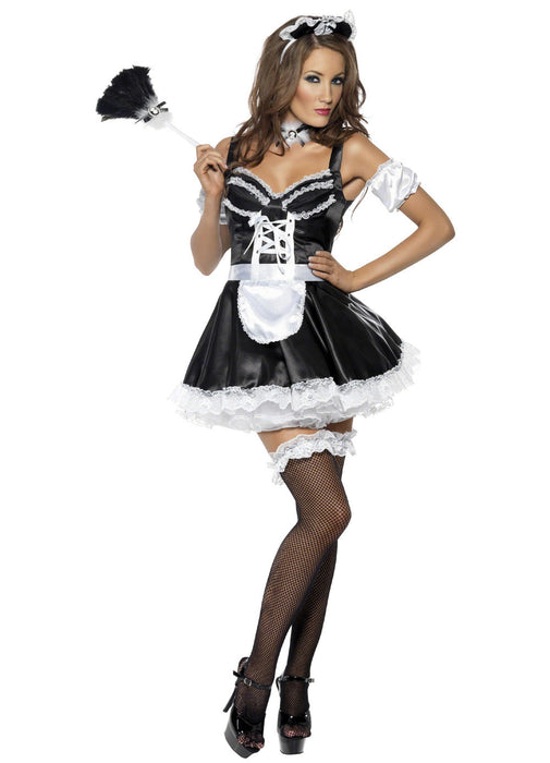 Flirty French Maid Costume Adult