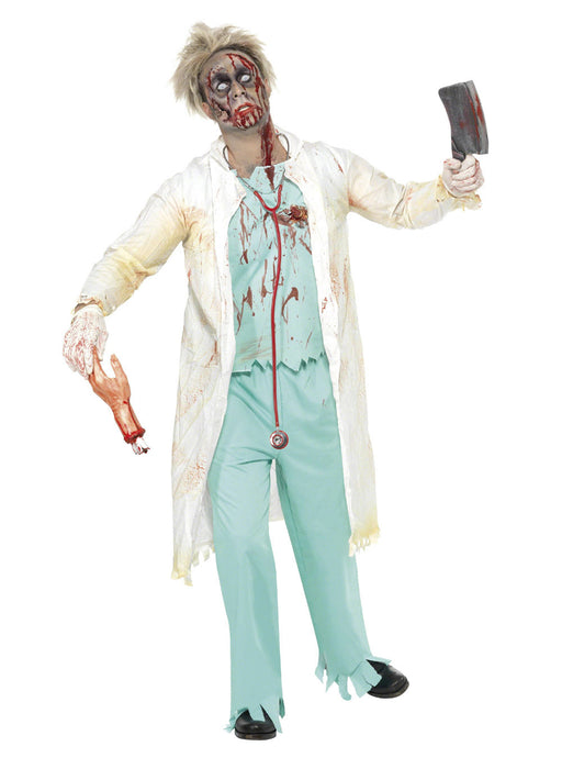 Zombie Doctor Costume Adult