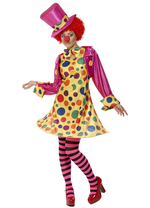 Clown Lady Costume Adult