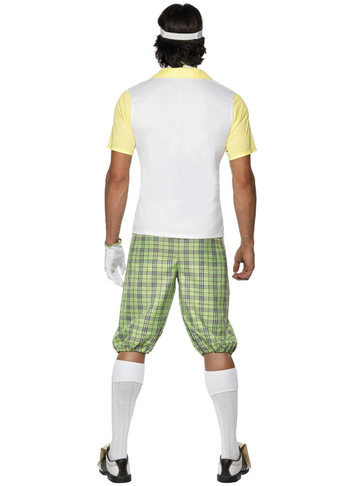 Golf Fancy Dress Male Costume Adult