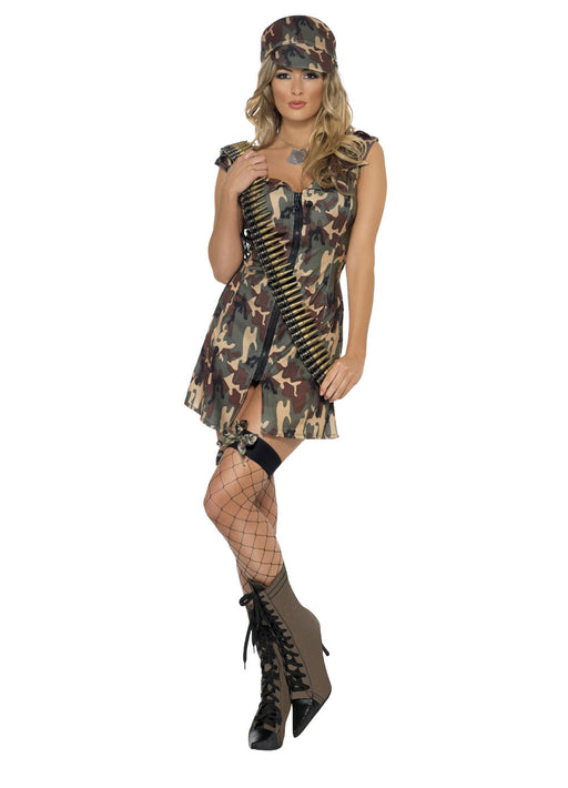 Fever Army Girl Costume Adult